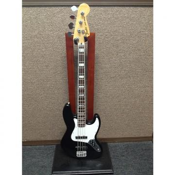 Custom Fender 70's Jazz Bass Black/White 2014 Made In Mexico Sales Floor Model