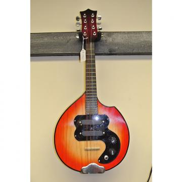 Custom NO NAME  Solid Body Electric Mandolin Burst