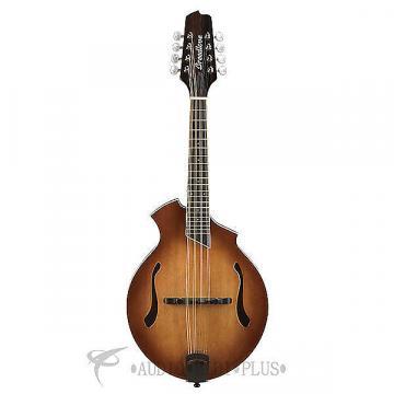 Custom Breedlove Crossover KF Sitka Spruce Maple Mandolin Guitar Sunburst - CRKF14SSMP - 875934007841