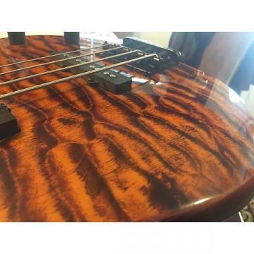 Custom Peavey Millennium BXP 4 String Quilt Top Amber