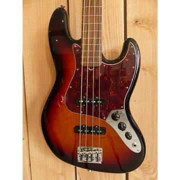 Custom Fender American Standard Jazz Bass Fretless 2013 3 Tone Sunburst