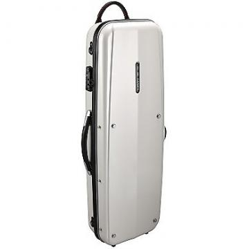 Custom 4/4 SIZE VIOLIN COMBI CASE PEARL WHITE / GLK (GL CASES)