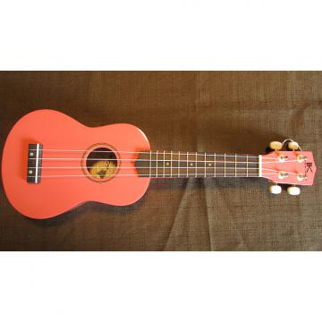 Custom Kaka'ako Beginner Ukulele - Pink Gloss - Wooden Ukulele with Rosewood Fretboard - Hawaii