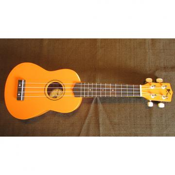 Custom Kaka'ako Beginner Ukulele - Wooden Ukulele - Rosewood Fretboard - Orange Gloss - Hawaii