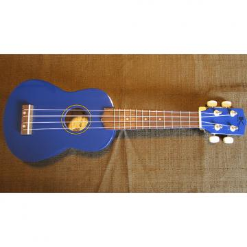 Custom Kaka'ako Beginner Ukulele - Wooden Ukulele - Rosewood Fretboard - Blue Gloss - Hawaii