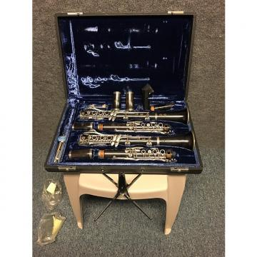 "Custom 1971 Selmer Paris Matched Set Professional Model 55 ""A"" and ""Bb"" Clarinets Grenadilla Wood"