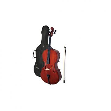 Custom Windsor MI-3006 Windsor 4/4 Size Cello with Padded Bag
