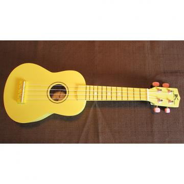 Custom Kaka'ako Beginner Ukulele - Soprano - Yellow Matte Finish - Basswood Ukulele - Hawaii