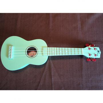 Custom Kaka'ako Beginner Ukulele - Soprano - Green Matte Finish - Basswood Ukulele - Hawaii