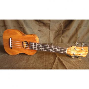 Custom Kaka'ako Acacia Ukulele - K1 Soprano - Hawaii - Mother of Pearl Inlays