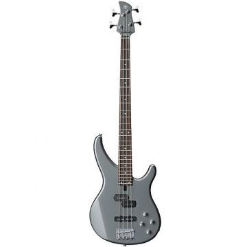 Custom Yamaha TRBX204 Bass Guitar  Gray Metallic
