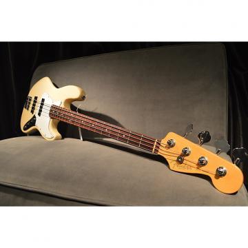 Custom 2000 Fender American Standard Jazz Bass Olympic White w/ Hard Case Near Mint