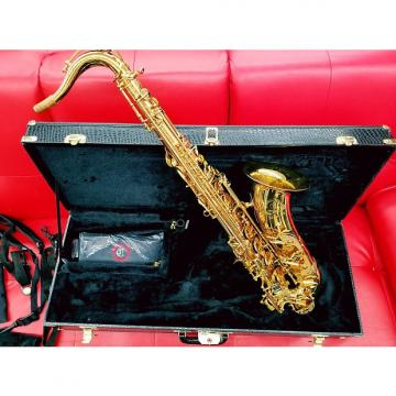Custom Cannonball Stone Series Big Bell Pro Tenor Saxophone Gold Lacquer Body and Keys