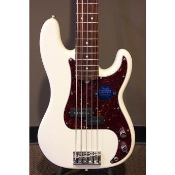 Custom Fender American Standard Precision Bass V - Olympic White w/ Rosewood Fretboard