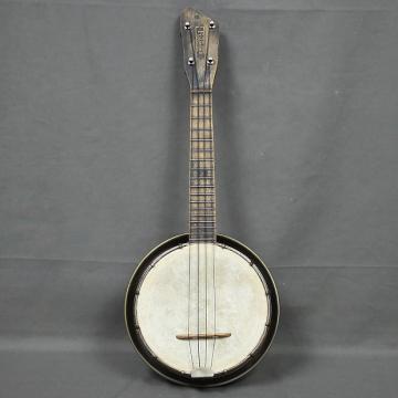 Custom VINTAGE 1920's Maxitone Banjo Ukulele - FREE SHIP