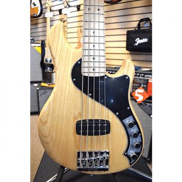 Custom Fender Deluxe Dimension V 5 String Bass Guitar  Natural