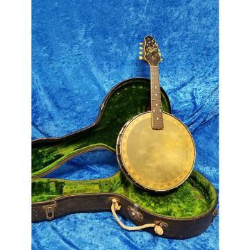 """Custom Gibson Trap-Door """"Banjolin"""" Mandolin-Banjo 1930's"""