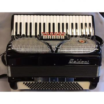 Custom Baldoni Double Tone Chamber 1980's Black & Silver