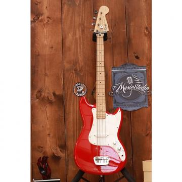Custom Squier Bronco Bass 2015 Red