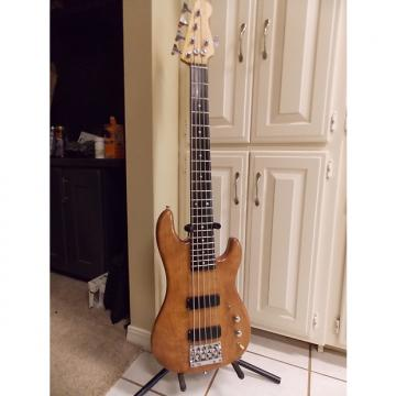 Custom Warmoth 5 String Wide P Bass 90's Natural