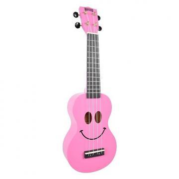 Custom Mahalo Smile Pink Soprano Ukulele