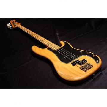 Custom Fender Precision Bass 1977 Natural Double P