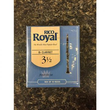 Custom Rico Royal French Cut Clarinet Reed 3.5 box 10