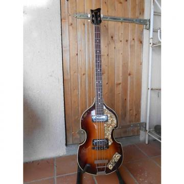 Custom Hofner 500/1 1968 3 Color Sunburst