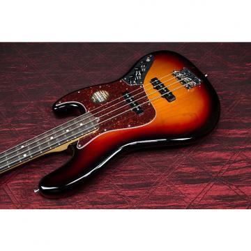 Custom Fender American Deluxe Jazz Bass 3-Color Sunburst Rosewood Fretboard 031607