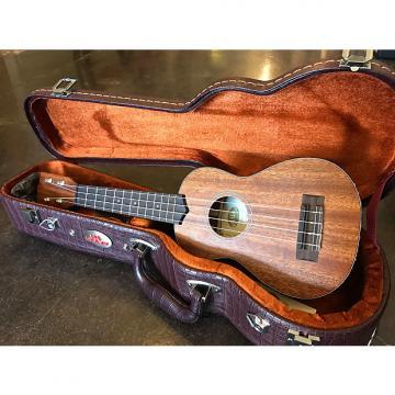 Custom Kala KA-smhs Soprano w/ hardshell alligator case Dark Mahogany