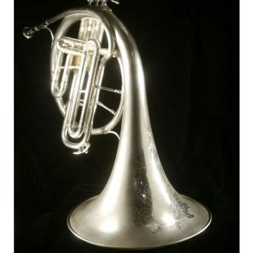 Custom King Cleveland Alto E Flat 1925 Silver Horn