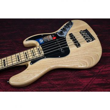 Custom Fender American Elite Jazz Bass V, Maple Electric Bass Guitar  Natural 031604