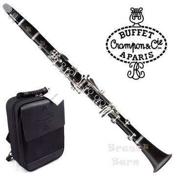 Custom 2017 Buffet Crampon E12F Clarinet with Silver-Plated Keys