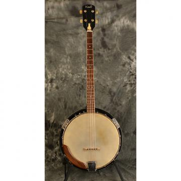 Custom Kent Tenor Banjo 1960s 4 string w Original Hardshell Case Included