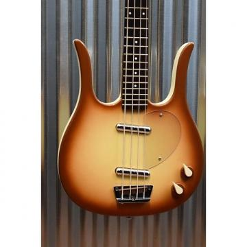 Custom Danelectro Longhorn Copper Burst Electric Bass Guitar Demo #2390