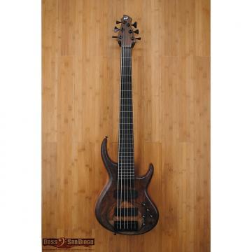 Custom MTD 635 Fretless 6-String Bass Walnut