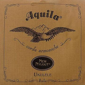 Custom Aquila New Nylgut AQ-4 Soprano Ukulele Strings - High G - Set of 4