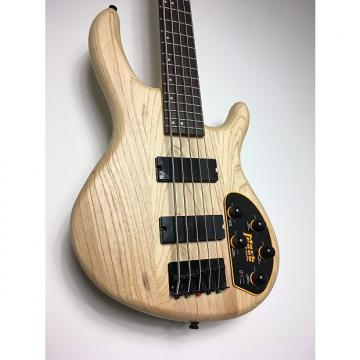 Custom Cort Action Deluxe 5 Ash Satin 2017 Natural