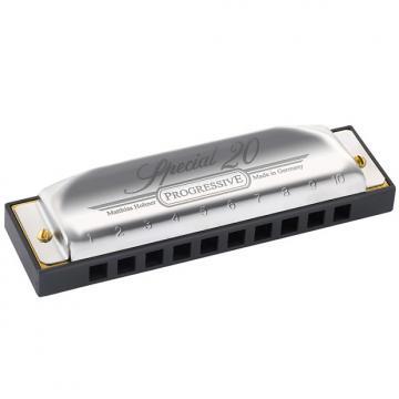 Custom Hohner Progressive Series Special 20 Harmonica Key of A