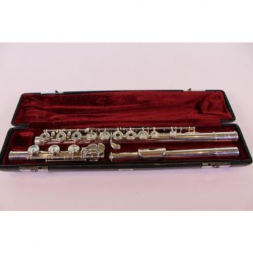 Custom Yamaha YFL-681H Solid Silver Flute SUPERB! SOLID SILVER KEYS!