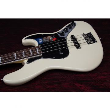 Custom Fender American Elite Rosewood Fingerboard Jazz Bass  Olympic White 031507