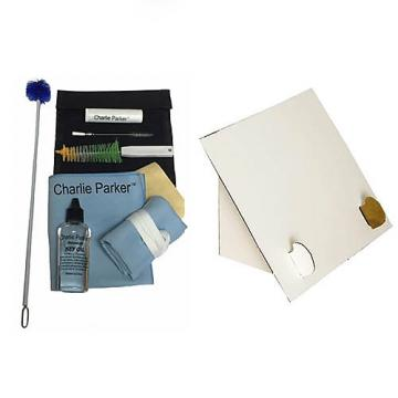 Custom Charlie Parker Paramount Series Baritone Saxophone Care & Cleaning Kit w/Desktop Music Stand
