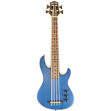 "Custom Hadean Bass Uke UKBE-22 33"" Blue"