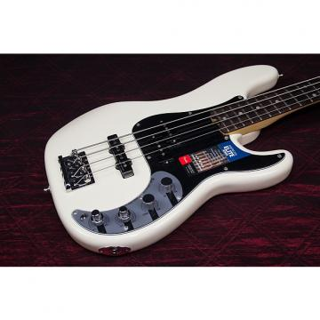Custom NEW! 2016 Fender American Elite Precision Bass Olympic White Authorized Dealer Full Warranty! OHSC