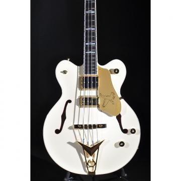 Custom Gretsch G6136B-TP AWT Tom Petersson Aged White Bass Guitar