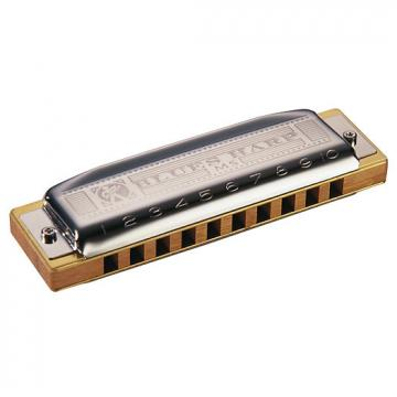 Custom Hohner MS Series Blues Harp Harmonica Key of Bb