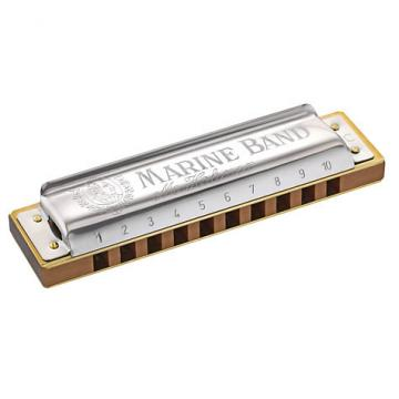 Custom Hohner Marine Band Classic Harmonica Key of A