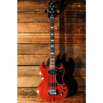 Custom Gibson SG Standard Bass 2015 Cherry  (#150058352)