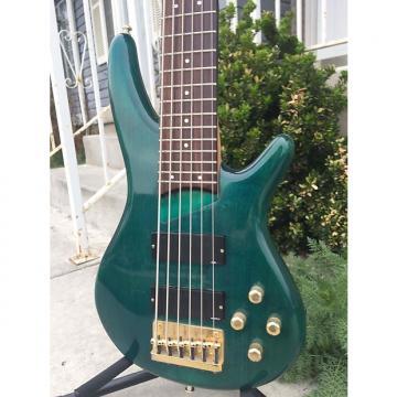 Custom Ibanez SR506 1995 Emerald Green w/ Rosewood Fretboard