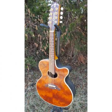 Custom Crafter M-70E Acoustic/Electric Mandolin 2002 MIK Natural Koa